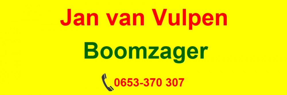 Jan van Vulpen – Boomzager
